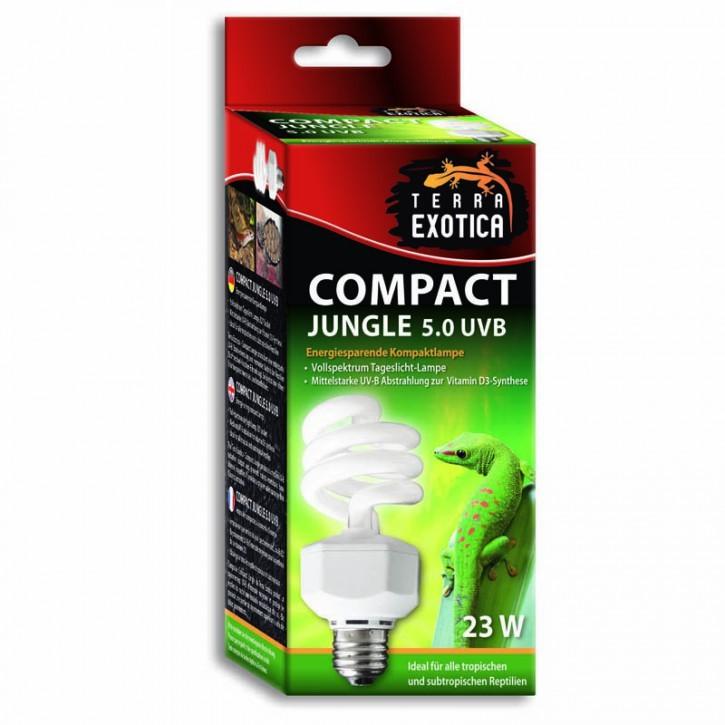 Compact Jungle 5.0 UVB 23 Watt - Energiesparende Kompaktlampe
