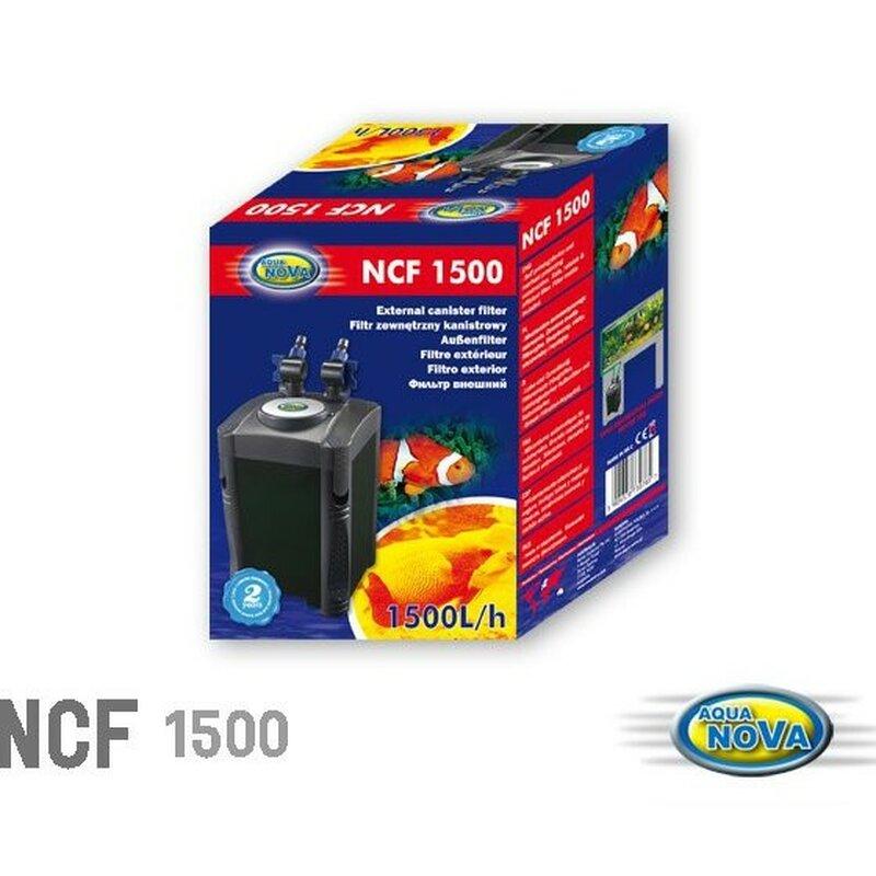 Aqua Nova Aussenfilter NFC- 1500- 1500 l/h