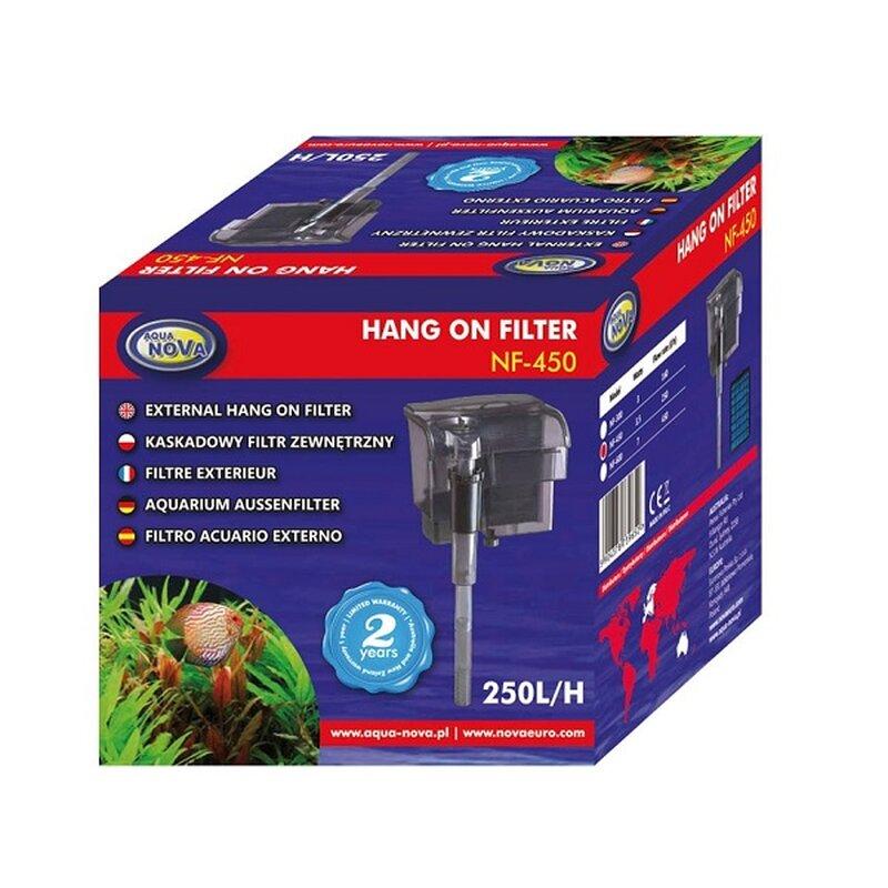 Aqua Nova Hang on Filter  NF-450 - 250 l/h