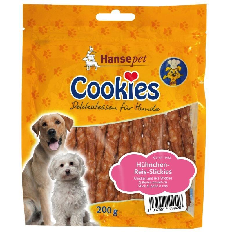 Cookies Hühnchen-Reis-Stickies 200g