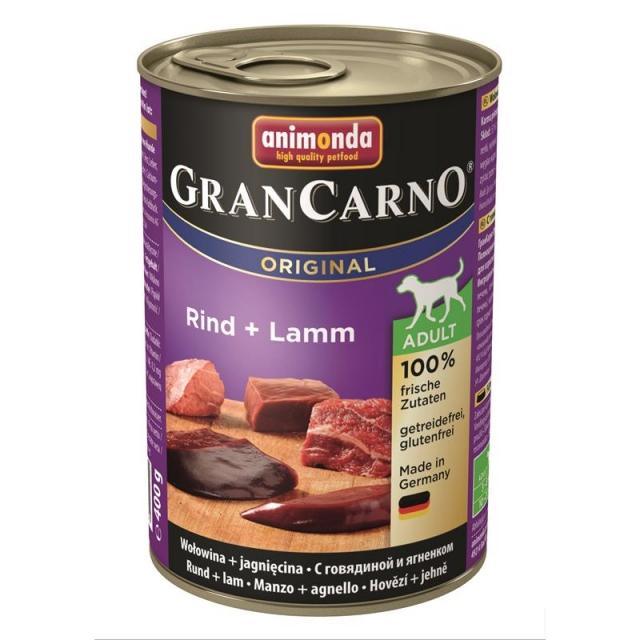 Animonda GranCarno Adult Rind & Lamm 400g( 6 Dosen )