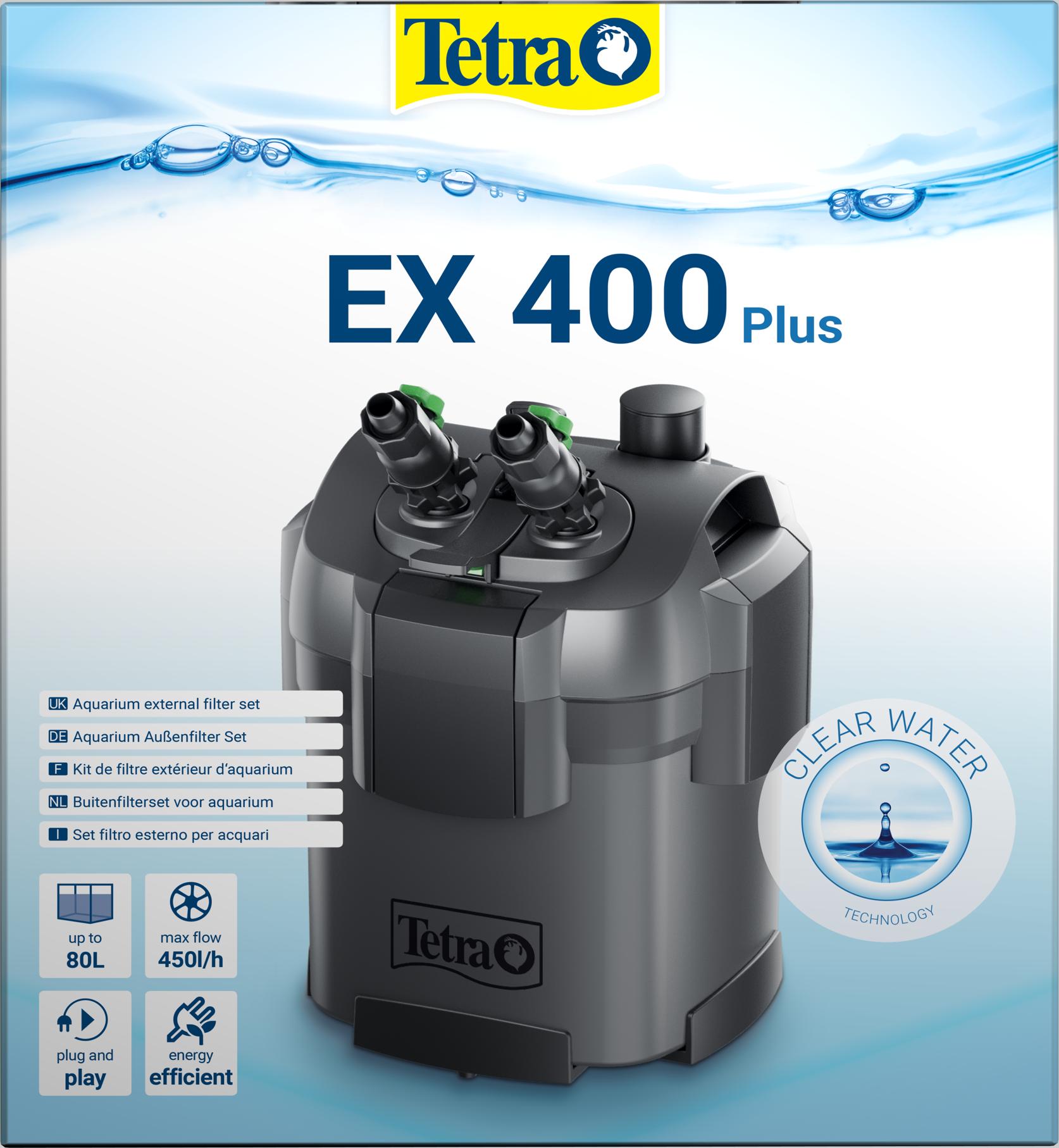 Tetra EX 400 plus Außenfilter Komplettset