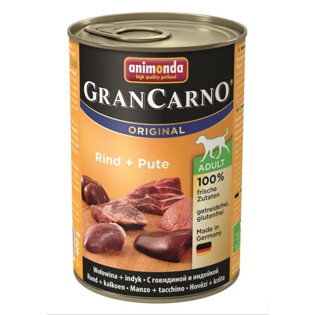 Animonda GranCarno Adult Rind & Pute 400g( 6 Dosen )