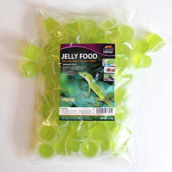 Jelly Food - Apfel 50 Stück à je 16 g im Beutel