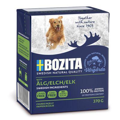 Bozita Naturals Happen in Gelee Elch 370g (16 Pack)