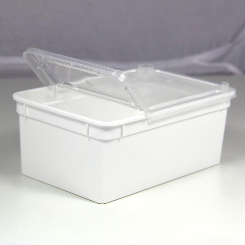 BraPlast Dose 1,3 Liter 18,5 x 12,5 x 7,5 cm - weiß