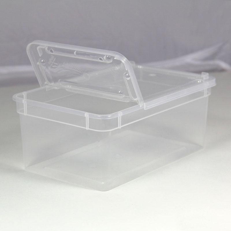 BraPlast Dose 1,3 Liter 18,5 x 12,5 x 7,5 cm - transparent