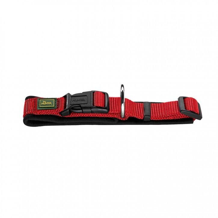 Hunter Halsung Neopren Vario Plus Rot/Schwarz 30-35 cm, 15 mm