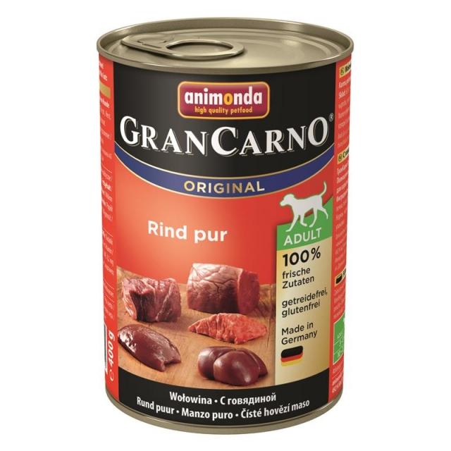 Animonda GranCarno Adult Rind pur 400g( 6 Dosen )