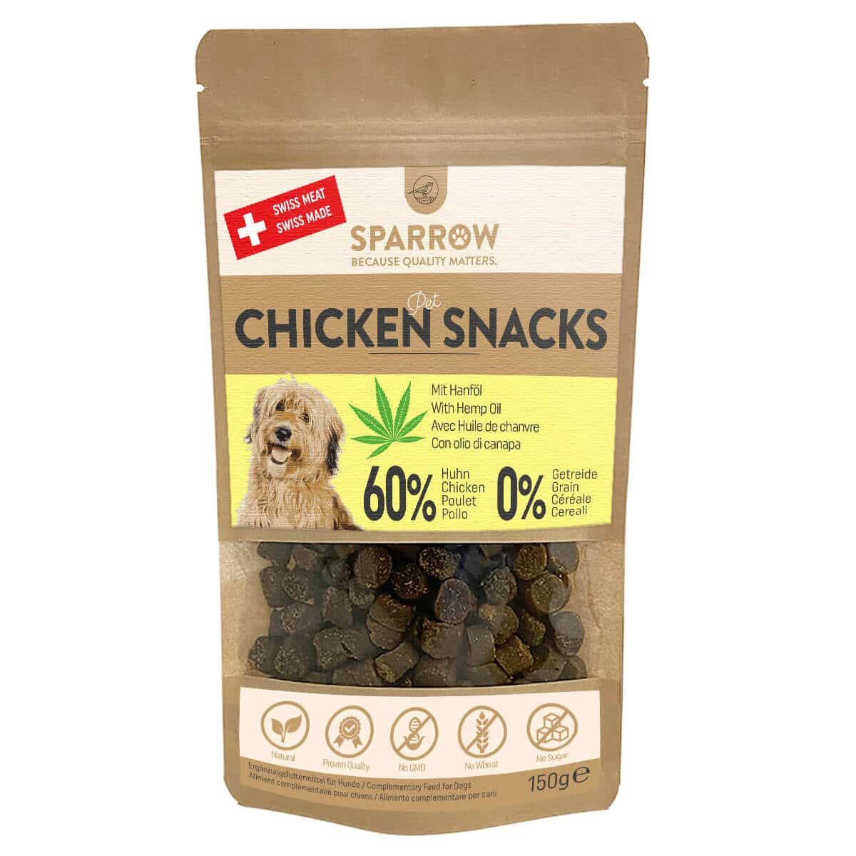 Sparrow Pet Chicken Snacks 150g