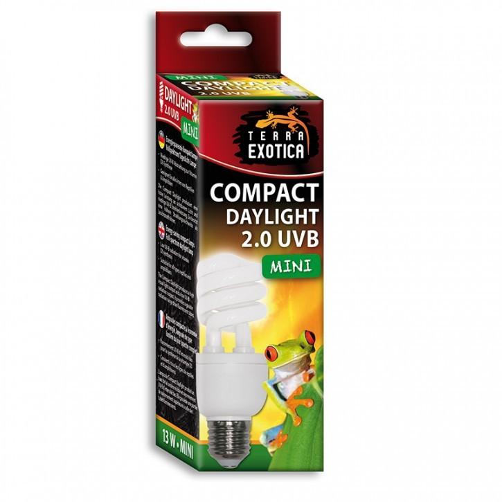 Compact Daylight 2.0 UVB - Mini -13 Watt Energiesparende Kompaktlampe