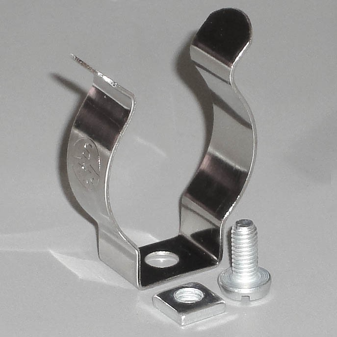 Federstahlklammer für T5-Röhre / Stück
