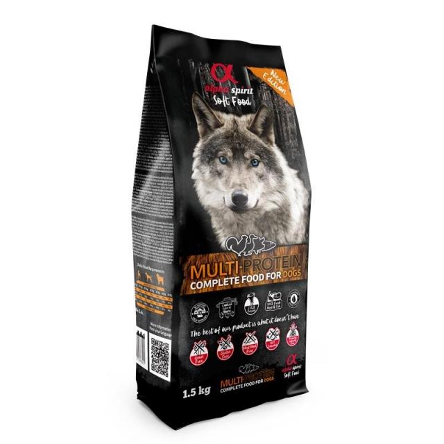 alpha spirit Dog Complete Food Multiprotein 1,5 kg
