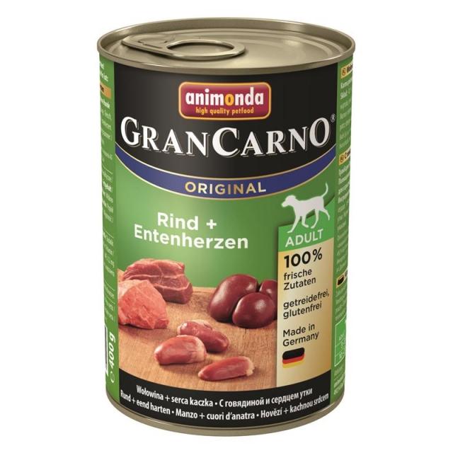 Animonda GranCarno Adult Rind & Entenherzen 400g ( 6 Dosen )