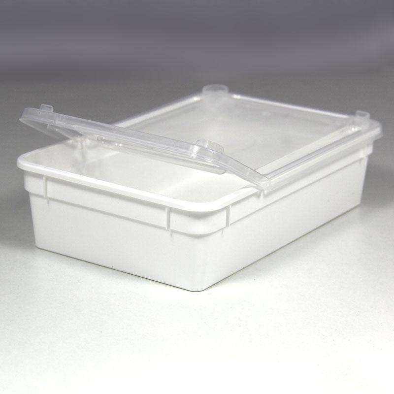 BraPlast Dose 0,8 Liter 18,5 x 12,5 x 5 cm - weiß