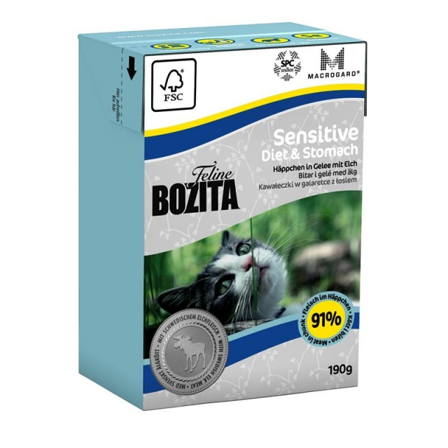 Bozita Diet & Stomach - Sensitve (16 x 190g) Sparpaket