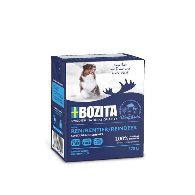 Bozita Naturals Happen in Gelee Rentier 370g (16 Pack)