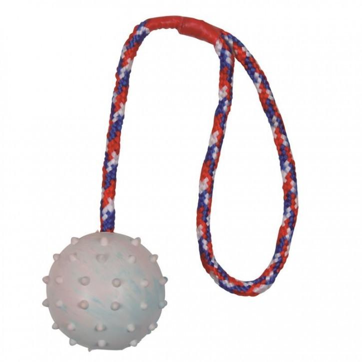 Trixie Ball am Seil, Naturgummi ø 6 cm / 30 cm