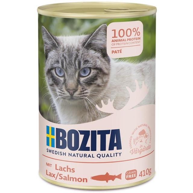 Bozita Cat Dose Lachs 410g (20 x 410 g) Sparpaket