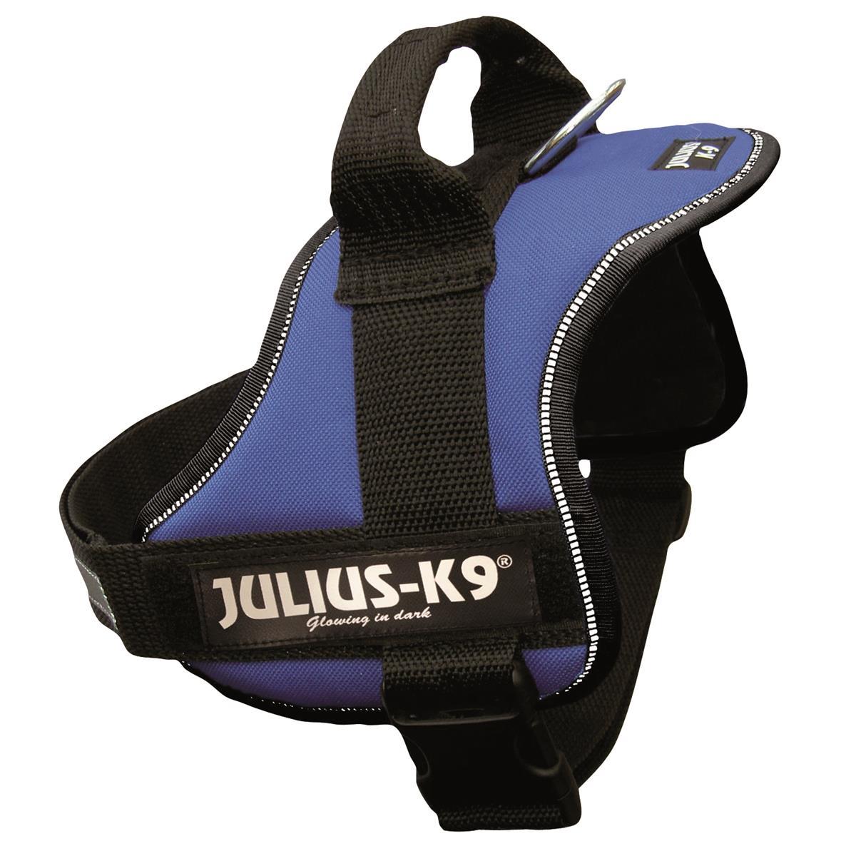 Trixie Dog  Julius-K9 Powergeschirr 0/M-L 58-76 cm blau
