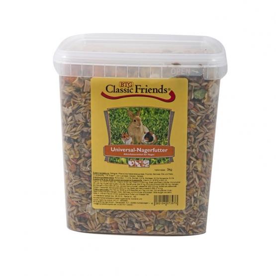 Classic Friends Universal Nagerfutter 3kg Eimer