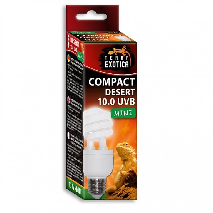 Compact Desert 10.0 UVB - Mini 13 Watt- Energiesparende Kompaktlampe