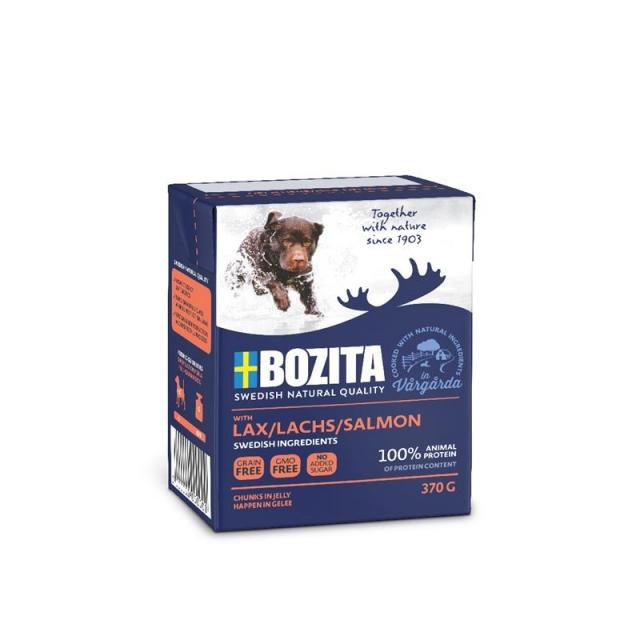 Bozita Naturals Happen in Gelee Lachs 370g (16 Pack)