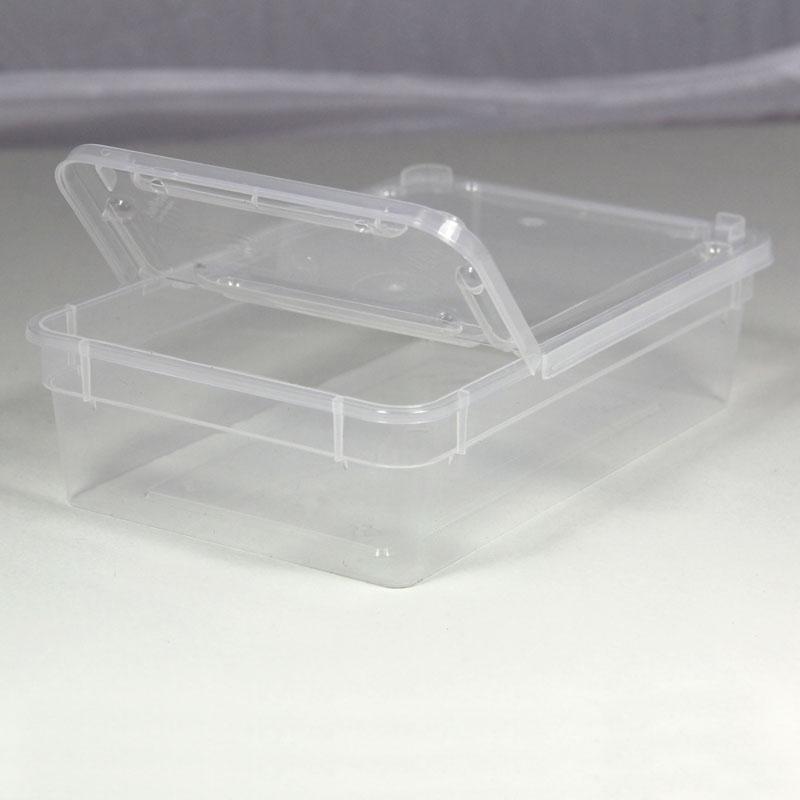 BraPlast Dose 0,8 Liter 18,5 x 12,5 x 5 cm - transparent