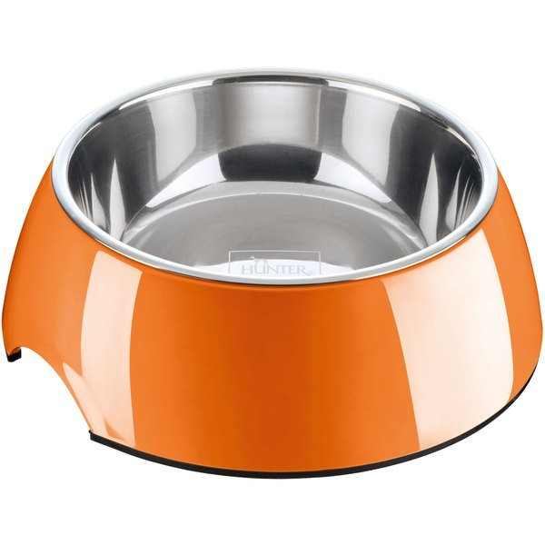 Hunter Melamin Napf 160 ml orange