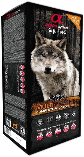 alpha spirit Dog Complete Food Multiprotein 9 kg